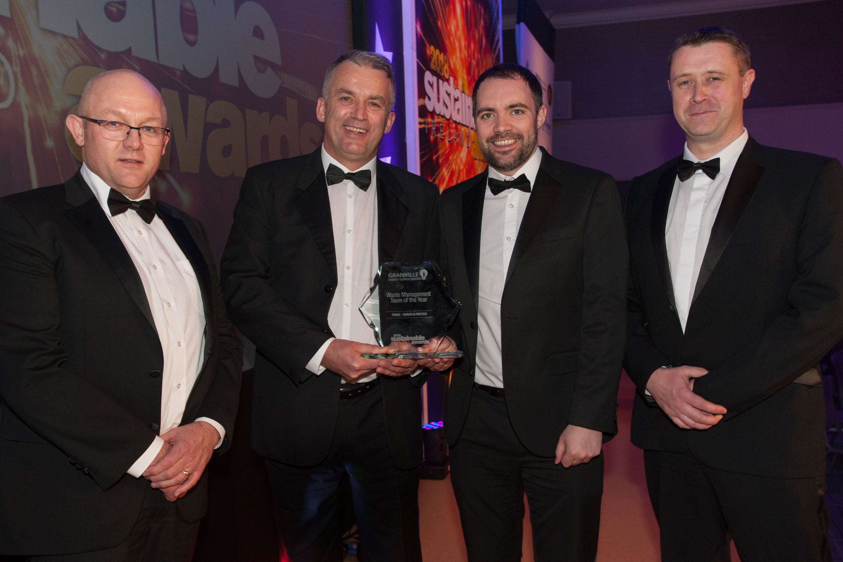 Terex Omagh and RecyCo Win Waste Management Team of the Year Award